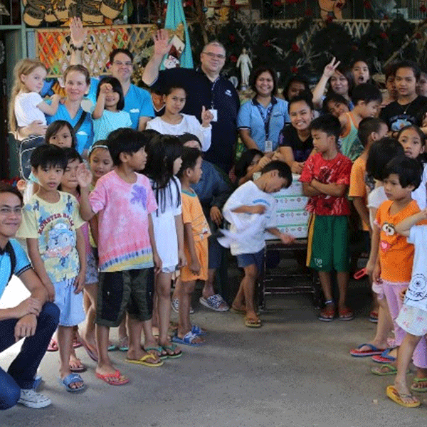 Cloudstaff at the Duyan Ni Maria Orphanage
